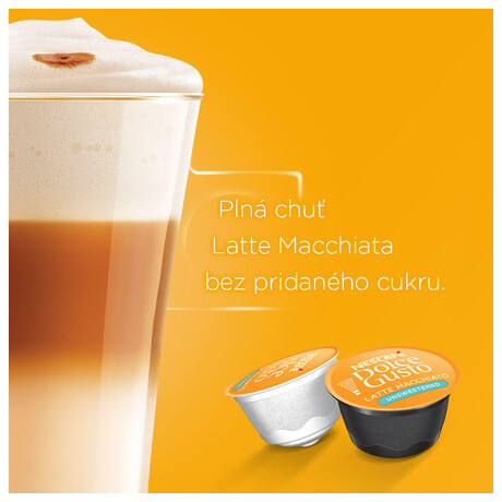 NESCAFÉ® Dolce Gusto® Latte Macchiato bez cukru kávové kapsle 16ks (foto 3)