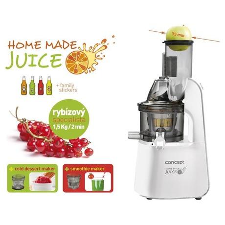 Concept LO7066 Lis na ovoce a zeleninu Home Made Juice WHITE (foto 5)