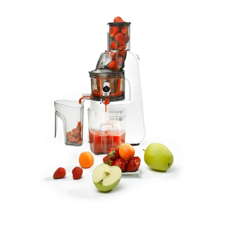 Odšťavňovač Concept LO7066 - Concept LO7066 Lis na ovoce a zeleninu Home Made Juice WHITE (foto 1)
