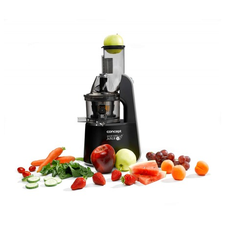 Odšťavňovač Concept LO7067 - Concept LO7067 Lis na ovoce a zeleninu Home Made Juice BLACK (foto 2)