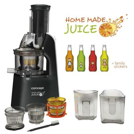 Odšťavňovač Concept LO7067 - Concept LO7067 Lis na ovoce a zeleninu Home Made Juice BLACK (foto 3)
