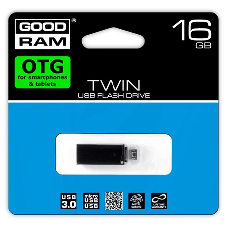 USB FD 16GB TWIN USB 3.0 GOODRAM