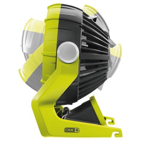 Ryobi R18F-0, aku ventilátor ONE+