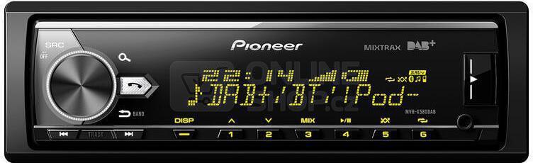 Autorádio Pioneer MVH-X580DAB