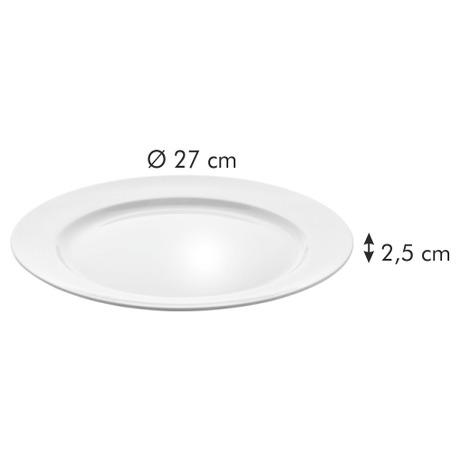 Mělký talíř Tescoma OPUS STRIPES pr. 27 cm