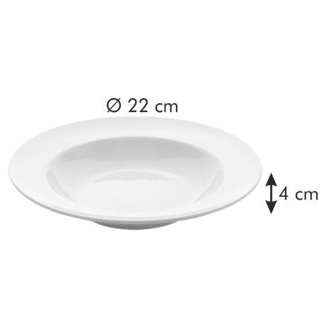 Hluboký talíř Tescoma OPUS STRIPES pr. 22 cm