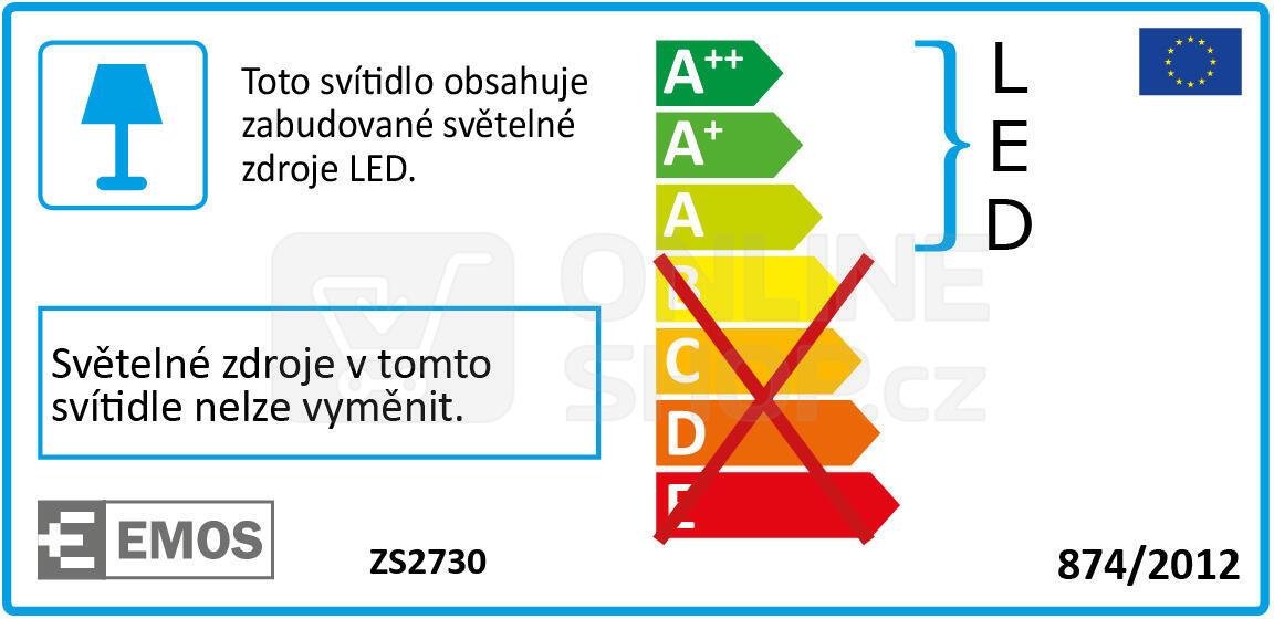LED reflektor PROFI s PIR, 30W neutrální bílá