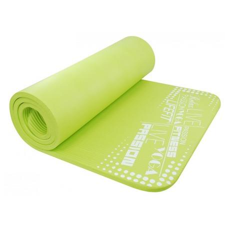 Podložka Lifefit Yoga Mat Exkluziv Plus 180x60x1,5cm - zelená