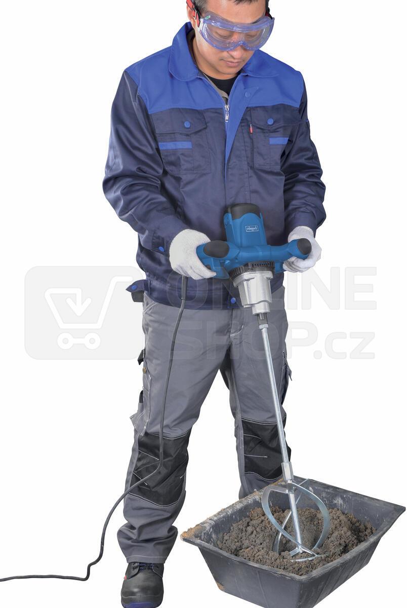 Míchadlo stavebních materiálů Scheppach PM 1200