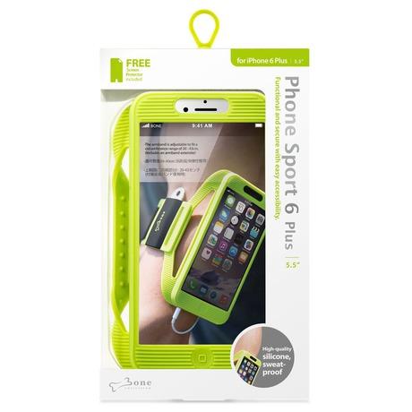 BONE sportovní pouzdro pro iPhone 6/6S Plus Green - BONE sportovní pouzdro pro iPhone 6/6S/7 Plus, Phone Sport 6Plus-GN (foto 2)