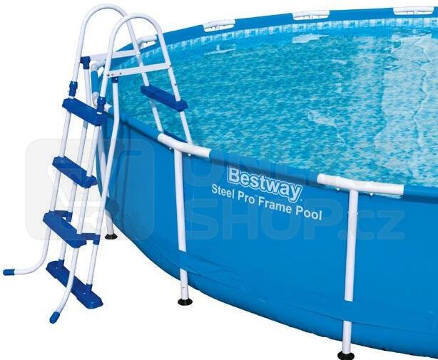 Marimex schůdky k bazénům Tampa v. 1,07 m (10950010)
