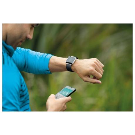 Chytré hodinky Fitbit Blaze large Gunmetal - černá - Fitbit Blaze large Gunmetal - černá (foto 1)
