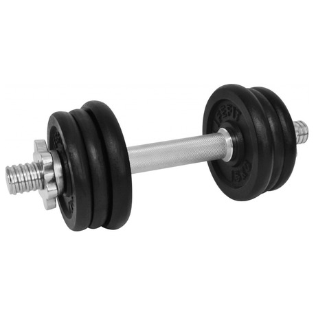 LIFEFIT nakládací jednoruční 9kg, 6xkotouč -lakované kotouče -kov/černá (foto 1)