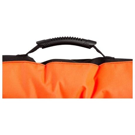 Matrace Samohýl Boseň neon s tlapou / nylon 90 x 60 x 12 cm - oranžová - Samohýl Boseň neon s tlapou / nylon 90 x 60 x 12 cm - oranžová (foto 2)