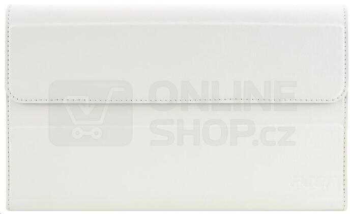 Pouzdro na tablet polohovací Acer pro B1-850 (7-8'') - bílé