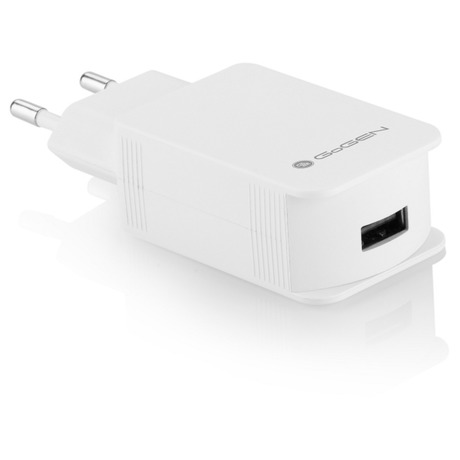 Nabíječka do sítě GoGEN ACHQ 102 CW, 1x USB, 2,1A s funkcí rychlonabíjení - GoGEN ACHQ 102 CW, 1x USB, 2,1A s funkcí rychlonabíjení - bílá (foto 1)
