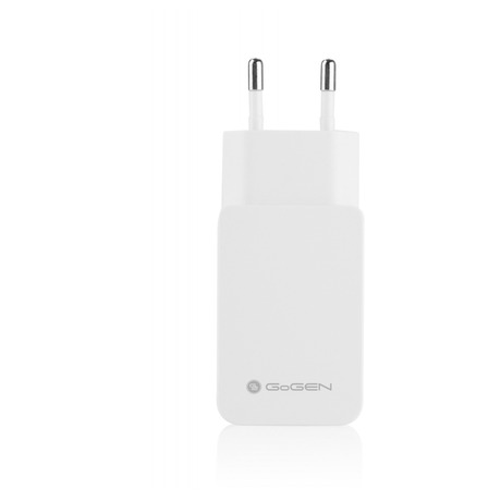 Nabíječka do sítě GoGEN ACHQ 102 CW, 1x USB, 2,1A s funkcí rychlonabíjení - GoGEN ACHQ 102 CW, 1x USB, 2,1A s funkcí rychlonabíjení - bílá (foto 3)