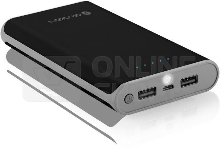 Powerbank GoGEN 16000mAh - černá/šedá