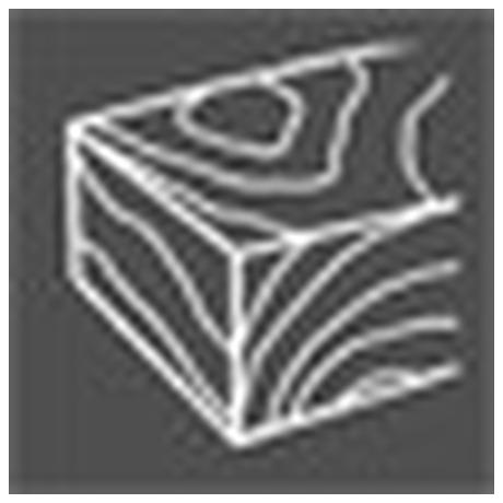 Lamelový kotouč Extol Craft, P80, 125mm