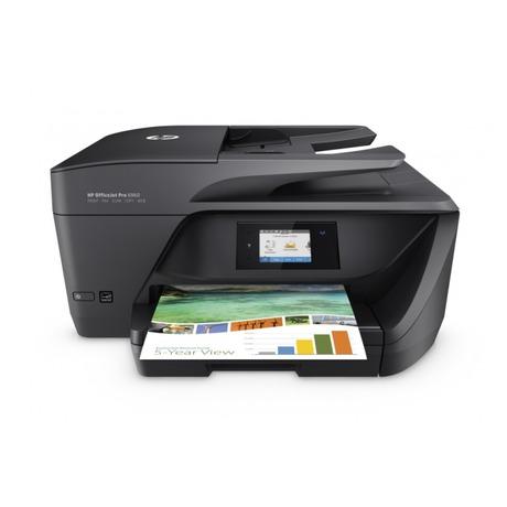 Tiskárna multifunkční HP Officejet Pro 6960 A4, 18str./min, 10str./min, 600 x 1200, 1 GB, duplex, WF, USB - černá - HP Officejet Pro 6960 A4- černá (foto 3)