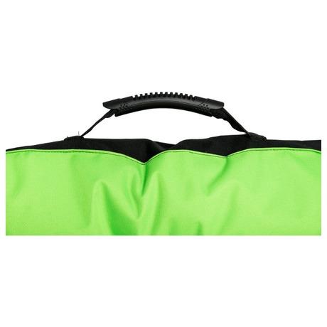 Matrace Samohýl Boseň neon s tlapou / nylon 90 x 60 x 12 cm - zelená