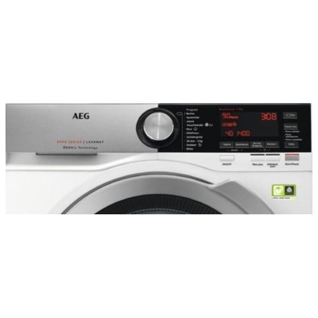 Pračka AEG ÖKOMix® L8FEC49SC - AEG ÖKOMix® L8FEC49SC + Sušička prádla AEG AbsoluteCare® T8DBE68SC (foto 8)