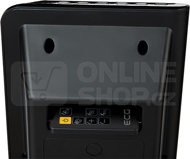 Keramické topení ECG KT 200 DT černý