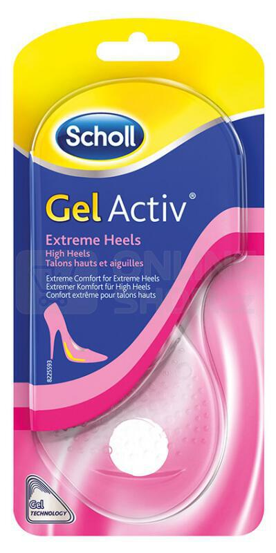 Gelové vložky do bot s vysokým podpatkem Scholl GelActiv - 1 pár
