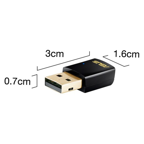 Wi-Fi adaptér Asus AC600 USB-AC51