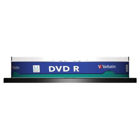 Disk Verbatim DVD-R M-Disc 4,7GB, 4x, printable, 10-cake - Verbatim DVD-R M-Disc 4,7GB, 4x, printable, 10cake (foto 1)