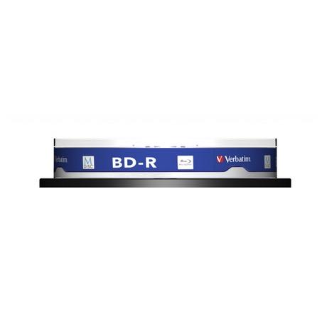 Disk Verbatim BD-R M-Disc 25GB, 4x, printable, 10-cake - Verbatim BD-R M-Disc 25GB, 4x, printable, 10-cake (foto 1)
