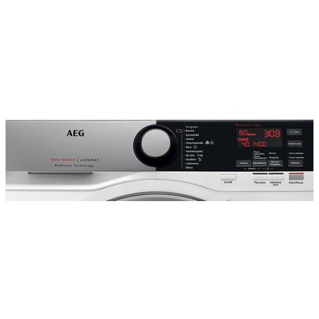 AEG ProSteam® L7FEE48SC + Sušička AEG AbsoluteCare® T8DBG47WC (foto 1)