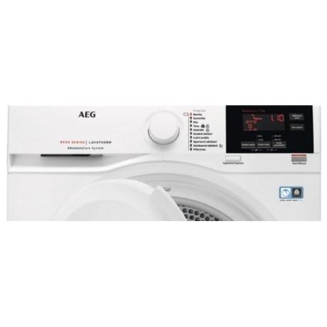 Sušička prádla AEG AbsoluteCare® T8DBG47WC - AEG ÖKOMix® L8FEC68SC + Sušička AEG AbsoluteCare® T8DBG47WC (foto 50)