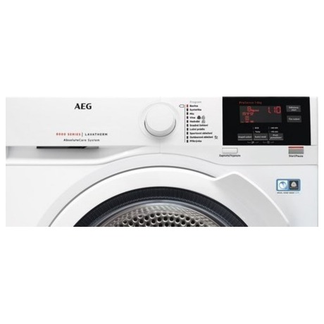 Sušička prádla AEG AbsoluteCare® T8DBG48WC - AEG ÖKOMix® L8FEC68SC + Sušička AEG AbsoluteCare® T8DBG48WC (foto 31)