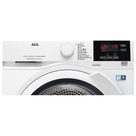 SET Pračka AEG ProSteam® L7FBE68SC + Sušička AEG AbsoluteCare® T8DBG48WC