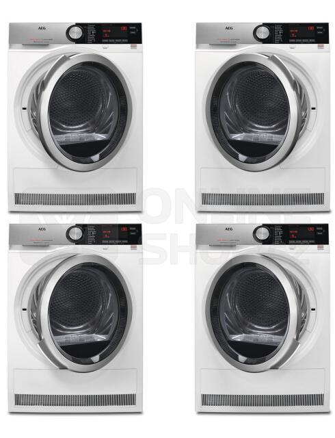 SET Pračka AEG ÖKOMix® L8FEC49SC + Sušička AEG AbsoluteCare® T8DEC68SC