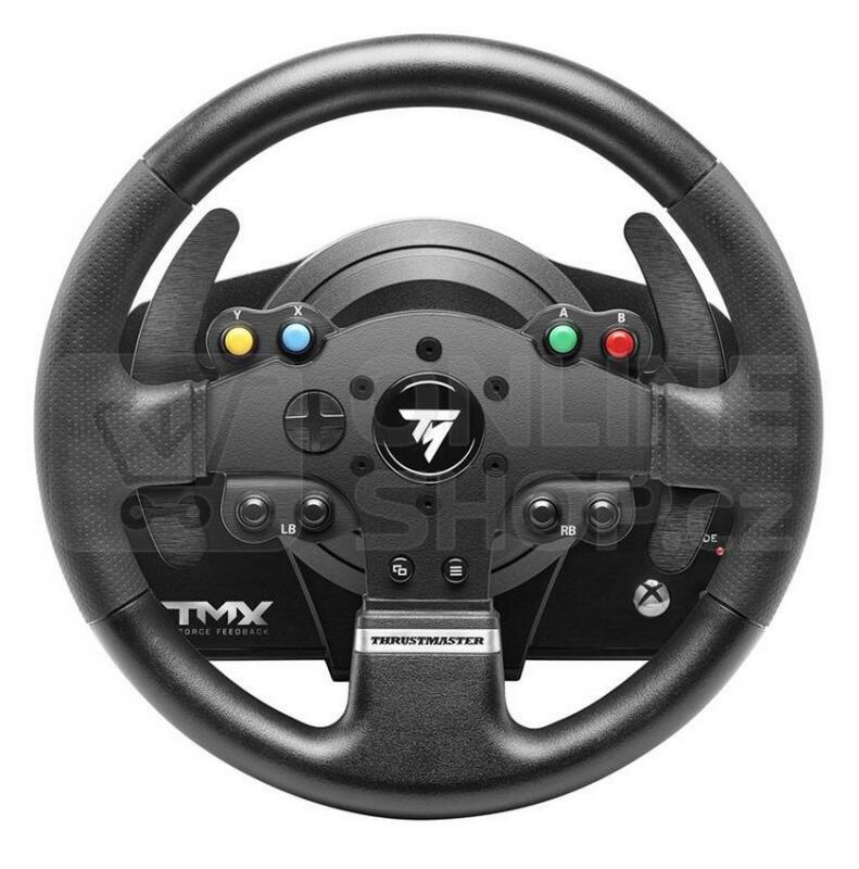 volant thrustmaster tmx force pro xbox one pc ped ly. Black Bedroom Furniture Sets. Home Design Ideas