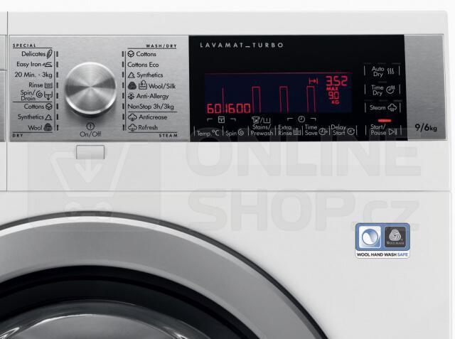 Pračka/sušička AEG Lavamat L99691HWD