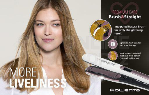 Žehlička na vlasy Rowenta SF7510F0