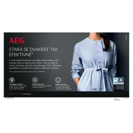 Sušička prádla AEG ProSense™ T6DBG28SC - AEG ProSense™ T6DBG28SC (foto 7)