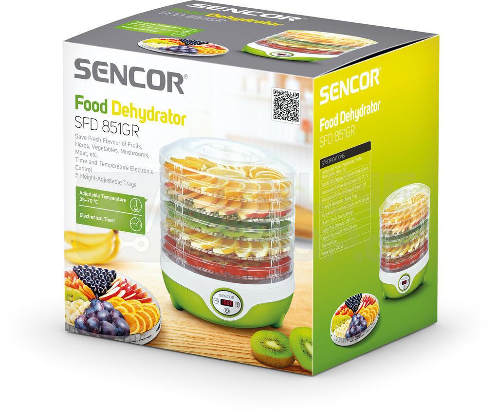 Sušička ovoce Sencor SFD 851GR