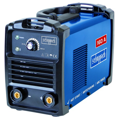 Scheppach WSE900, svářecí invertor 160 A s příslušenstvím - Scheppach WSE900 160 A s příslušenstvím (foto 1)