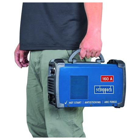 Scheppach WSE900, svářecí invertor 160 A s příslušenstvím - Scheppach WSE900 160 A s příslušenstvím (foto 2)