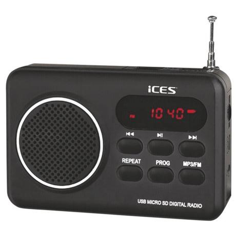 Radiopřijímač Lenco IMPR 112, černý