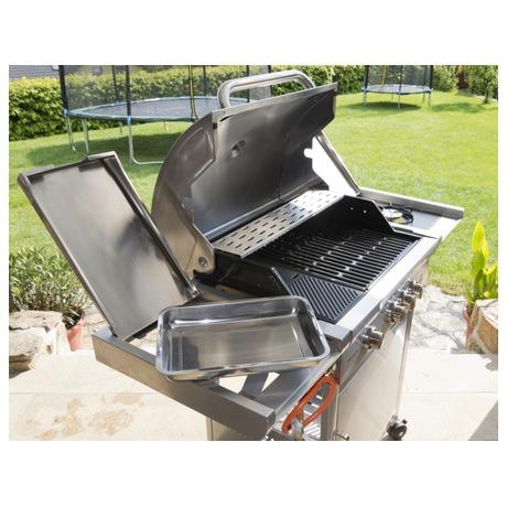 Gril zahradní plynový G21 California BBQ Premium Line, 4 hořáky - G21 California BBQ Premium Line, 4 hořáky (foto 9)