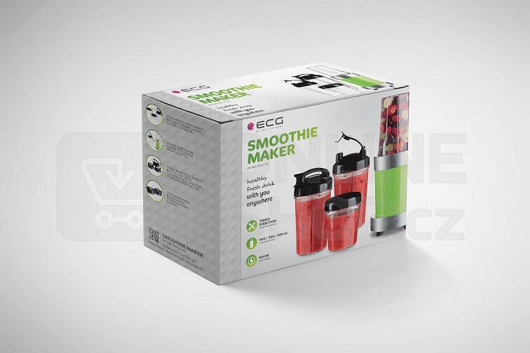 Nutri Smoothie mixér ECG SM 900 Mix&Go Blender