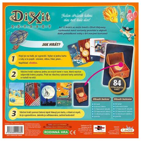 Karetní hra ADC Blackfire Dixit Odyssey
