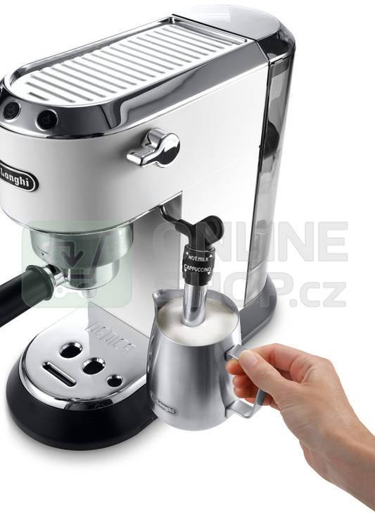 Espresso DeLonghi DEDICA EC685.W bílé