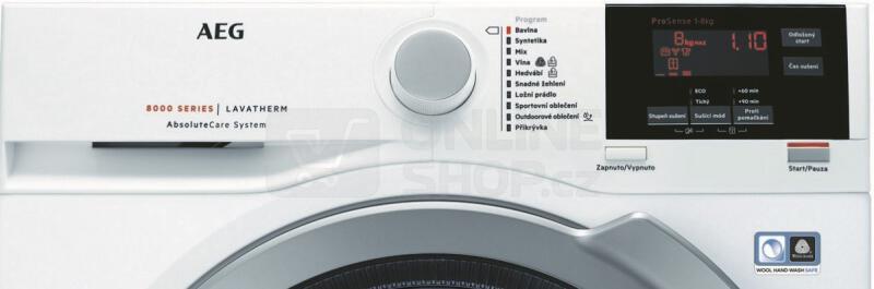 Sušička prádla AEG AbsoluteCare® T8DEG48SC