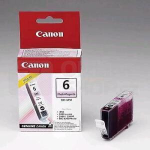 Inkoustová náplň Canon BCI-6PM, 210 stran originální - fialová